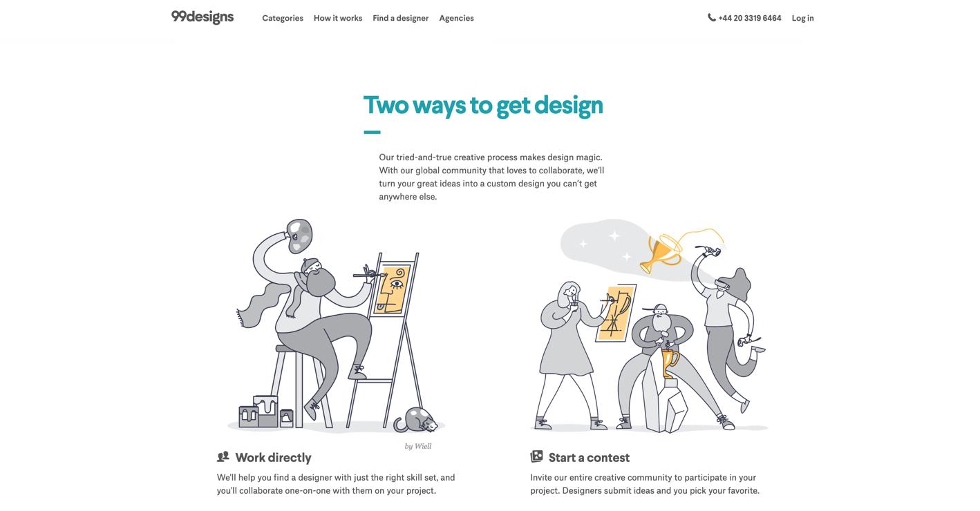 99designs design contests